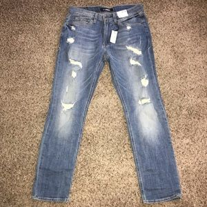 Mens Distressed Express Jeans
